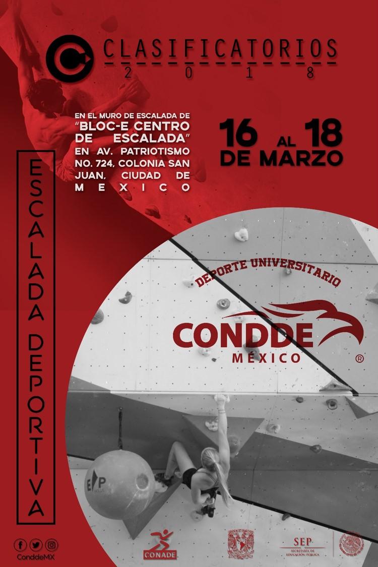 CLASIFICATORIO DE ESCALADA 2018